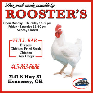 roosters in Hennessey located at 7141 S Hwy 81 in Hennessey, OK